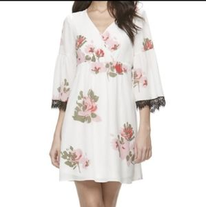 NWT Candie's Floral Babydoll Dress